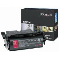 Toner Lexmark T520, T522, X520, X522s, černá, 12A6730, originál