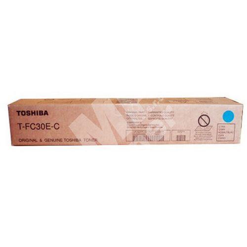 Toner Toshiba T-FC30EC, cyan, originál 2