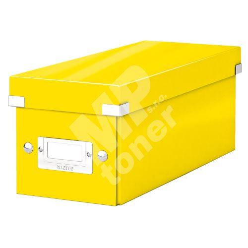 Archivační krabice na CD Leitz Click-N-Store WOW, žlutá 1