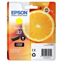Inkoustová cartridge Epson C13T33444012, Expres. Home XP-530, XP-630, yellow, 33, originál