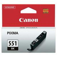 Inkoustová cartridge Canon CLI-551Bk, iP7250, MG5450, MG6350, black, 6508B001, originál