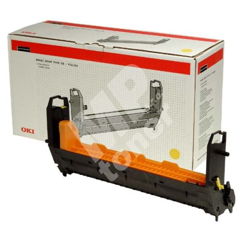 Válec OKI Laser C9300, 9500, žlutý, 41963405, originál