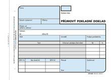 Příjmový pokladní doklad číslovaný 2x50 list, nepropisovací, OP1039