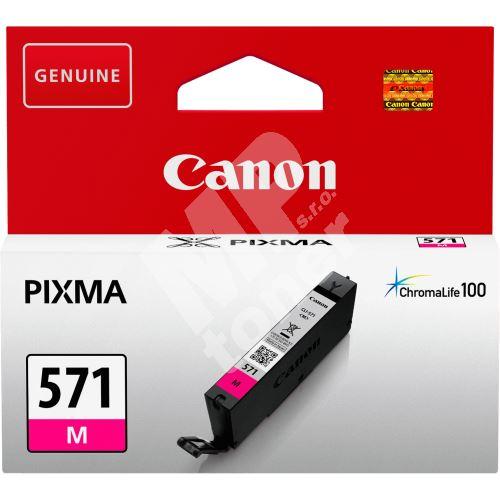 Cartridge Canon CLI-571M XL, 0333C001, magenta, originál 2
