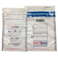 Bezpečnostní obálky Safebag C3, 321 x 470 mm, bílá/černá
