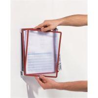 Prezentační kapsa Durable Vario Wall 10, mix barev, nástěnná, 10 kapes