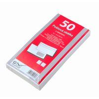 Poštovní obálka DL okénko samolepící 1bal/50ks