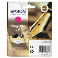 Inkoustová cartridge Epson C13T16234012, WF-2540WF, WF-2520NF, magenta, 16, originál