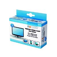 Čistící utěrky D-CLEAN na LCD monitory, Duo-Wipes