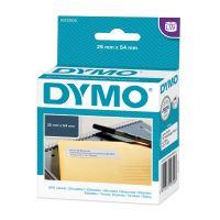 Etikety Dymo pro zpáteční adresu 54x25mm, bílé, samolepící 1bal/500 ks, 11352, S0722520
