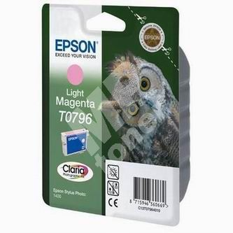 Cartridge Epson C13T079640, light magenta, originál 1