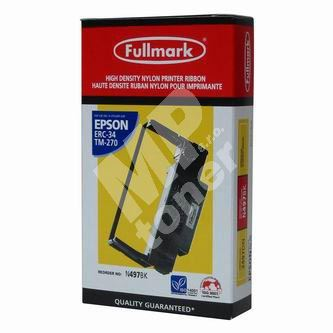 Páska do pokladny Epson ERC 30, ERC 34, TM-275, TM-300, černá, Fullmark