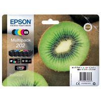 Inkoustová cartridge Epson C13T02E74010, XP-6000, 6005, CMYK, 202, originál
