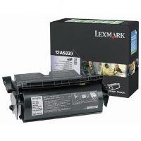 Toner Lexmark T520, N, D, DN, T522, X520 MFP, černá, 12A6839, return, originál