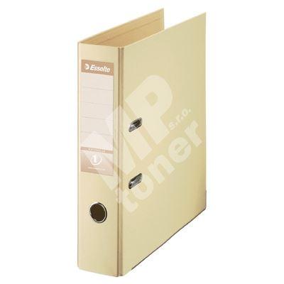Pákový pořadač Esselte No. 1 Power z PVC A4 75 mm, krémový 1