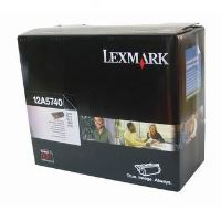 Toner Lexmark Optra T, T610, T612, T614, T616, černá, 12A5740, origin