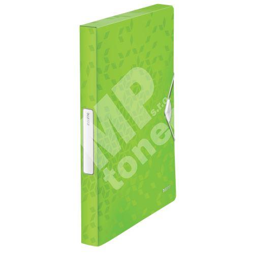 Desky s gumičkou Wow Jumbo, zelená, 30 mm, PP, A4, LEITZ 1