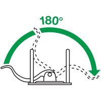 Pákový pořadač Leitz 180, A4, 52 mm, PP/karton, se spodním kováním, zelený 6