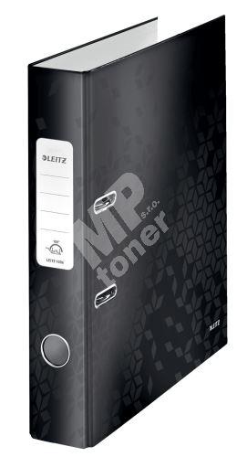 Pákový pořadač 180 Wow, černá, 52 mm, A4, PP/karton, LEITZ 2