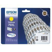 Inkoustová cartridge Epson C13T79044010, WF-5620DWF, WF-5110DW, 79XL, yellow, originál