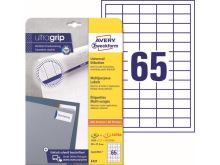 Samolepící etikety Ultragrip 38 x 21,2 mm, 30 listů A4 6121