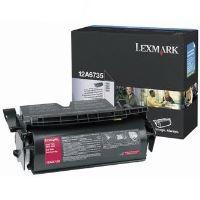 Toner Lexmark T520, T522, X520, X522s, černá, 12A6735, originál