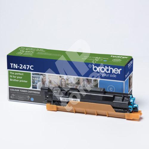 Toner Brother TN-247C, DCP-L3510CDW, DCP-L3550CDW, cyan, originál