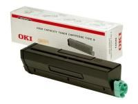 Toner OKI 09004168 B4520 4540 černý originál