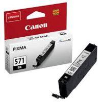 Inkoustová cartridge Canon CLI-571BK, Pixma MG6851, MG6852, black, 0385C001, originál