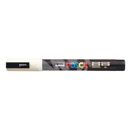 Uni Posca PC-3M akrylový popisovač, 0,9-1,3 mm, smetanový 1