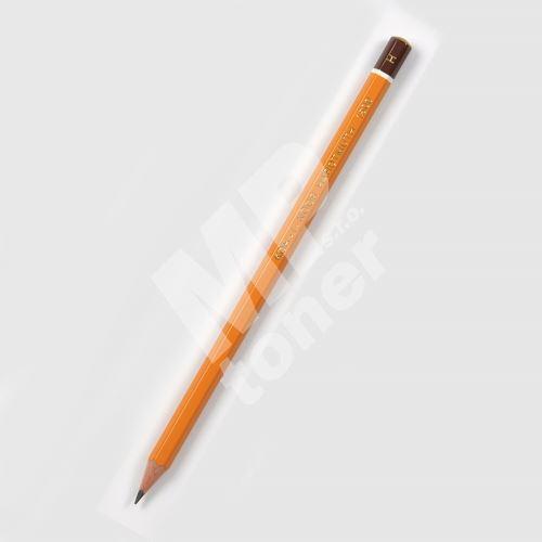 Grafitová tužka 1500, H, šestihranná, Koh-i-noor 1