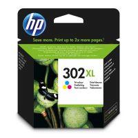 Inkoustová cartridge HP F6U67AE, OJ 3830, Deskjet 2130, color, No.302XL, originál