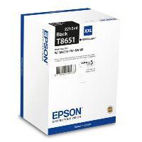 Inkoustová cartridge Epson C13T865140, WorkForce WF-M5190, black, XXL, originál