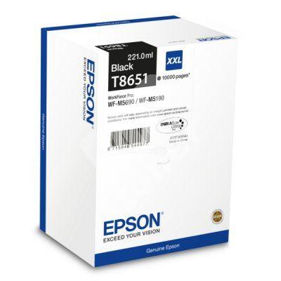 Cartridge Epson C13T865140, black, originál 1