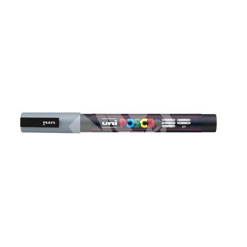 Uni Posca PC-3M akrylový popisovač, 0,9-1,3 mm, šedý 1