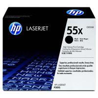 Toner HP CE255X, LaserJet P3015, black, 55X, originál
