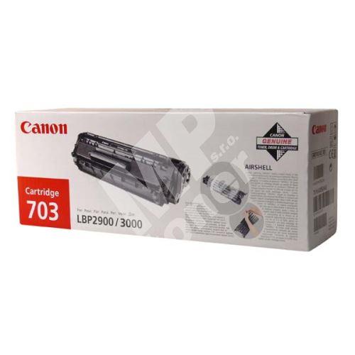 Toner Canon CRG-703, LBP-2900, black, originál