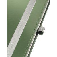 Zápisník Leitz STYLE A5, tvrdé desky, čtverečkovaný, zelenkavý 6