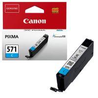 Inkoustová cartridge Canon CLI-571C, Pixma MG6851, MG6852, cyan, 0386C001, originál