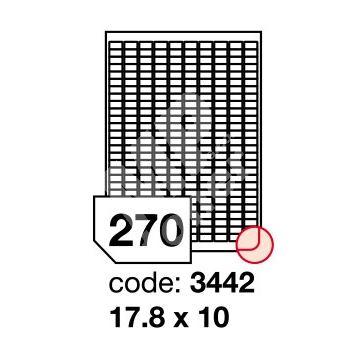 Samolepící etikety Rayfilm Office 17,8x10 mm 100 archů R0100.3442A 1