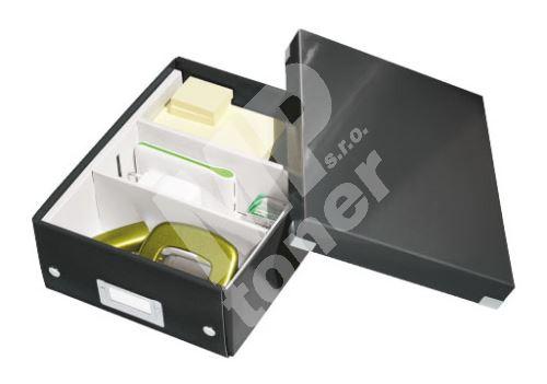 Archivační organizační box Leitz Click-N-Store S (A5), černý 1