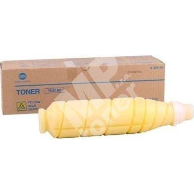 Toner Konica Minolta A1U9252, Bizhub Pro C6000, C7000, yellow, TN-616Y-L, originál 1