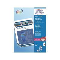 Fotopapír AVERY A4 pro laser 170g 200 listů lesk - 1298