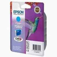 Inkoustová cartridge Epson C13T080240, R625, RX560, R360, cyan, originál