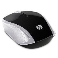 Myš HP 200 Wireless Pike Silver, optická, bezdrátová, stříbrná