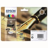 Inkoustová cartridge Epson C13T16264012, WF-2540WF, WF-2520NF, CMYK, 16, originál