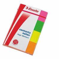 Samolepící bloček Esselte Contacta 20x50 neon 4x40listů