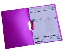 Deska s klipem A4 Auroklip, červená 2