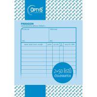 Paragon daňový doklad A6, číslovaný 2x50 listů, OP1041