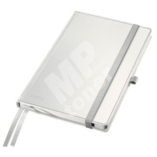 Zápisník Leitz STYLE A5, tvrdé desky, čtverečkovaný, arkticky bílý 1